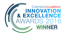 Winner – Corporate LiveWire Innovation & Excellence Awards 2016