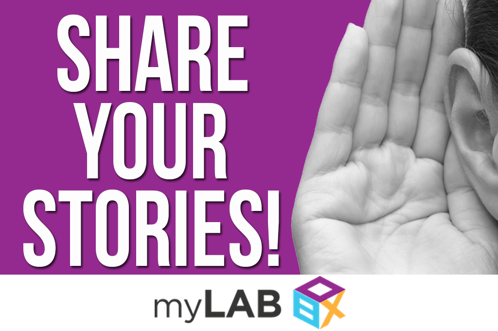 Share your STD story with myLAB Box