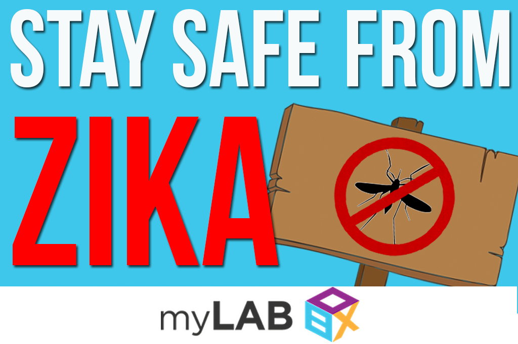 How to stay safe from zika mylab box