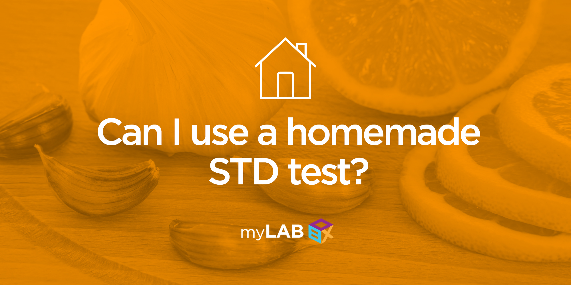 Can I use a homemade STD test?