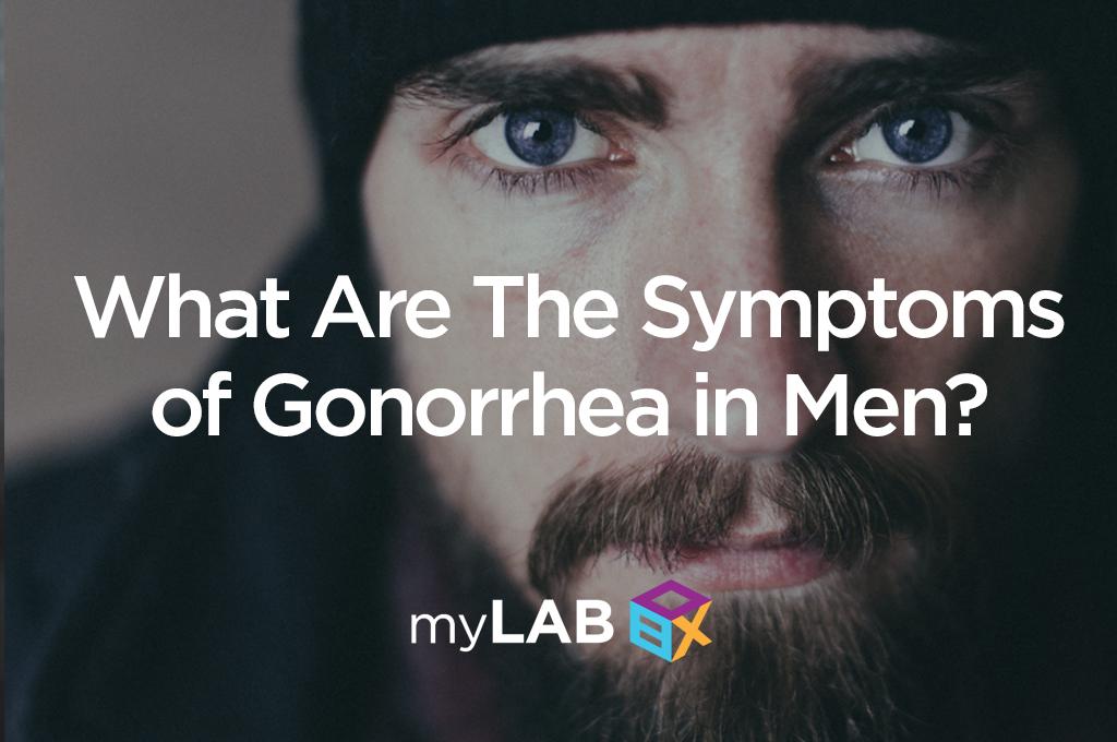 symptoms of gonorrhea in men