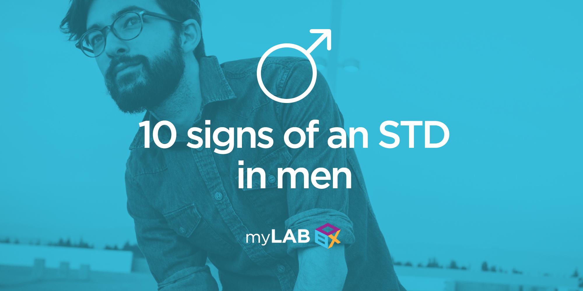 Top 10 STD Symptoms in Men | Your Treatment Options ...