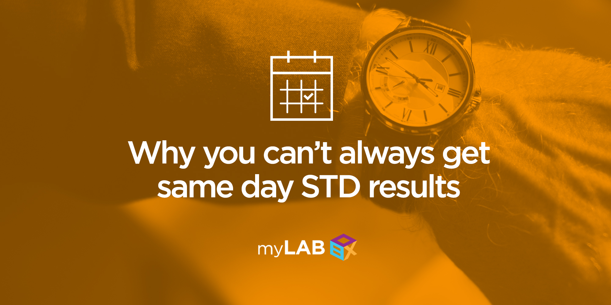 Why You Can't Always Get Same Day STD Results