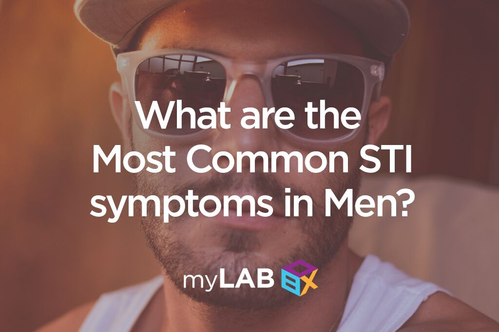 common STI symptoms in men