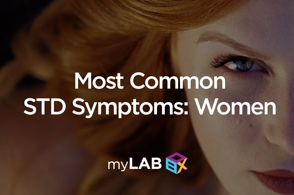 std symptoms women