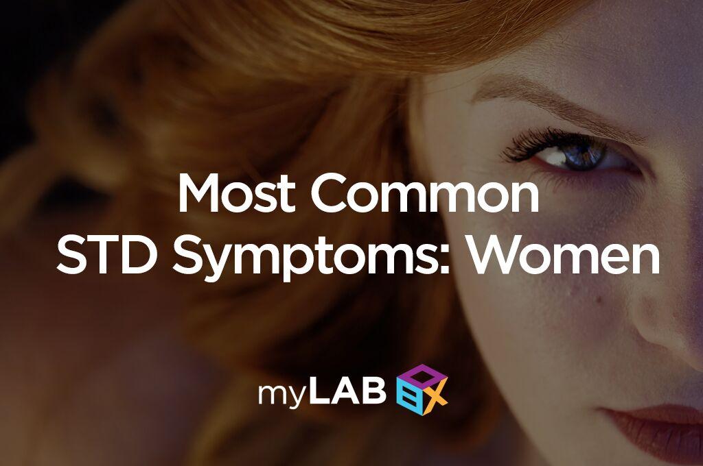 std symptoms women