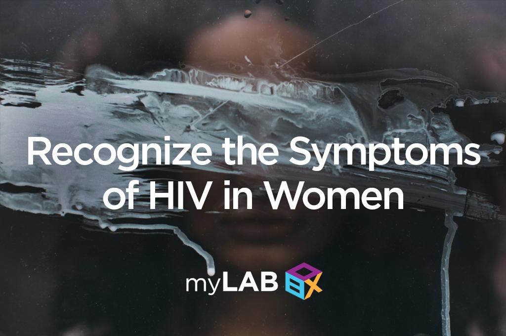 symptoms of HIV in women