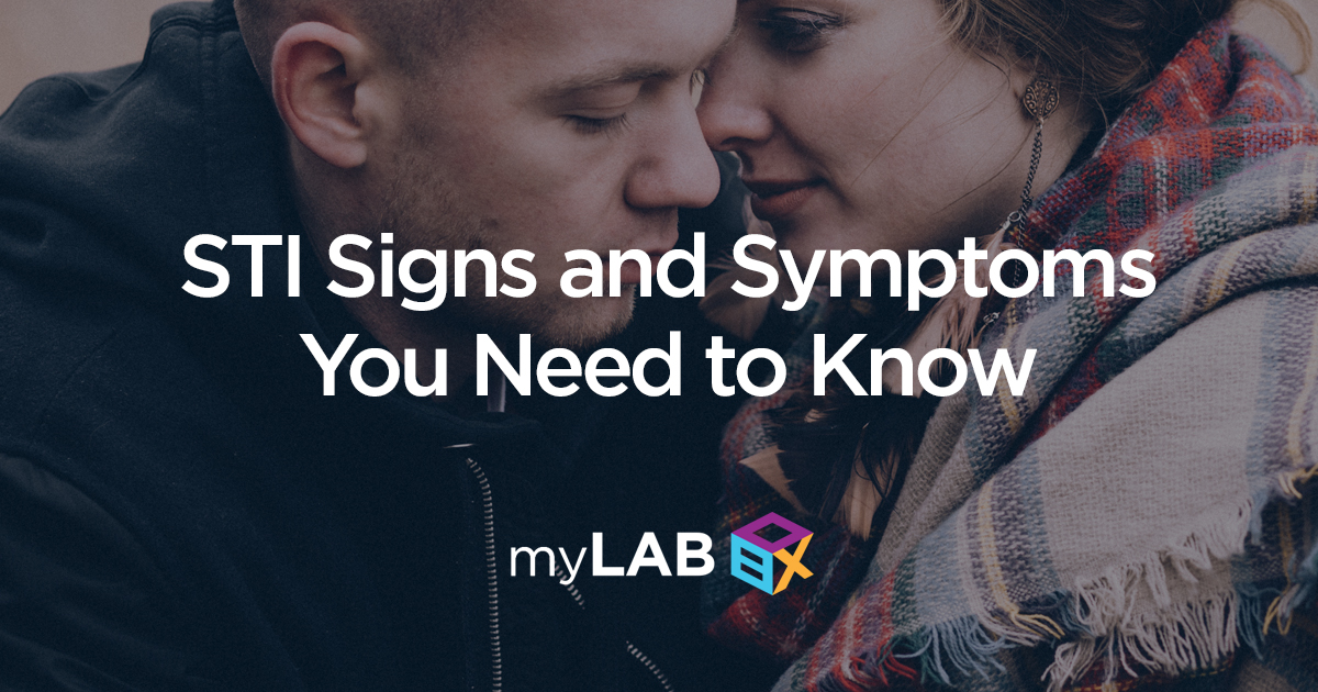 STI signs and symptoms