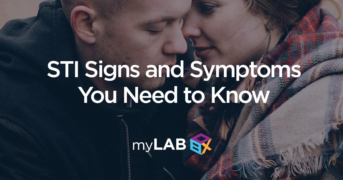 STI signs and symptoms