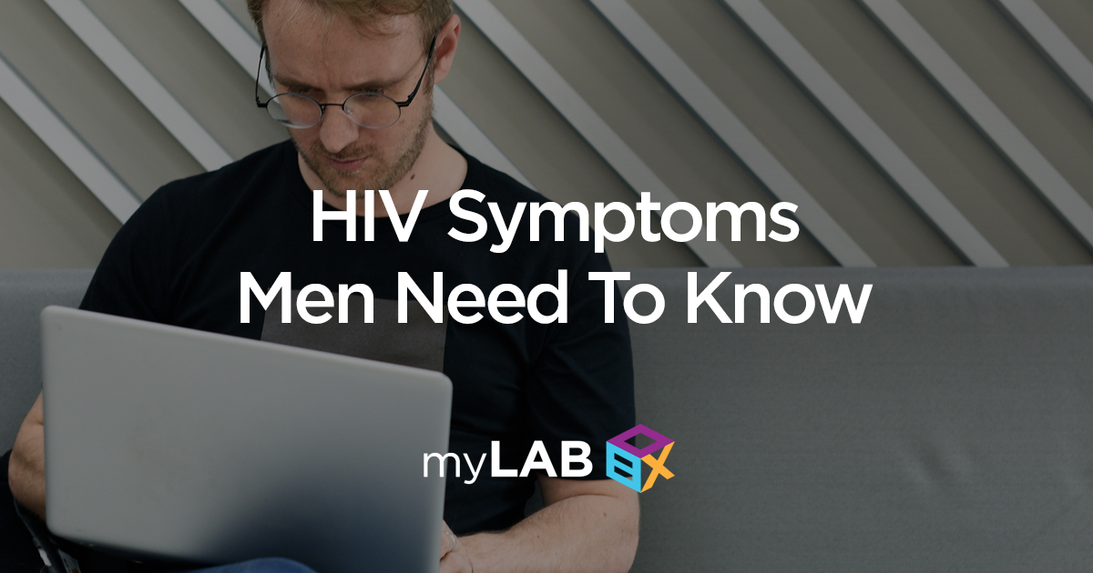 HIV symptoms men