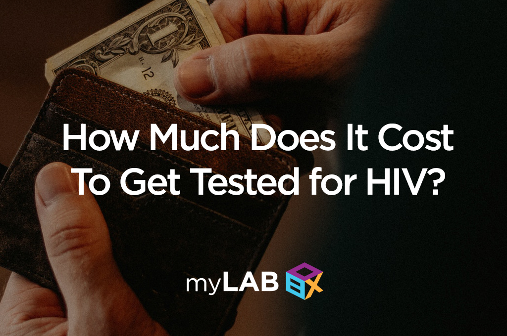 how much does it cost to get tested for HIV