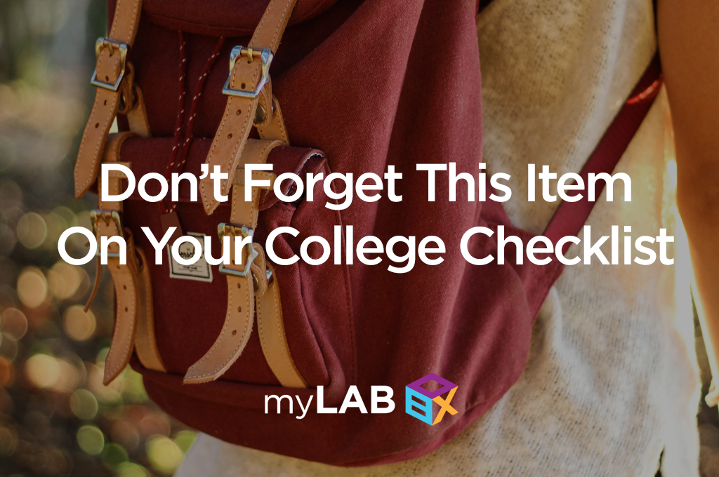 Don't Forget This Item On Your College Checklist