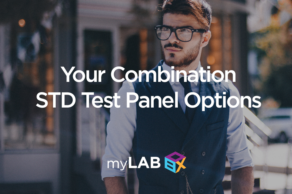 Your Combination STD Test Panel Options